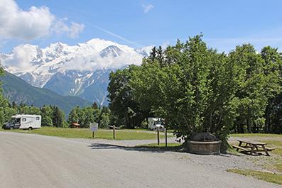 Bassin avec le Mont-Blanc